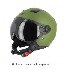 SIFAM - Casca Open-face S-LINE S779 - VERDE ARMY, XS