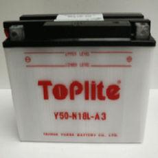 TOPLITE YUASA - Y50-N18L-A3 (CU INTR., NU INCL. ACID)
