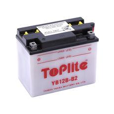TOPLITE YUASA - YB12B-B2 (CU INTR., NU INCL. ACID)