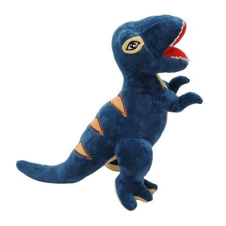 Jucarie de plus Dinozaur T-REX, 75 CM,albastru