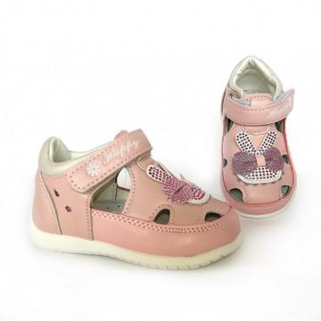 Sandale inchise, inteior piele, Clibee