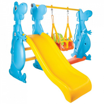 Centru de joaca Pilsan Dino Slide and Swing