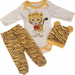 Compleu bebelusi , Tigrut, 3 piese
