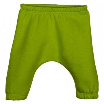 Pantaloni sport bebelusi, matlasati, verzi
