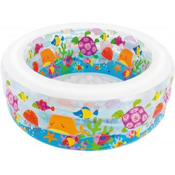 Piscina copii Aquarium Intex