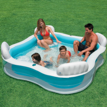 Piscina gonflabila mare Swim Center Family Lounge INTEX