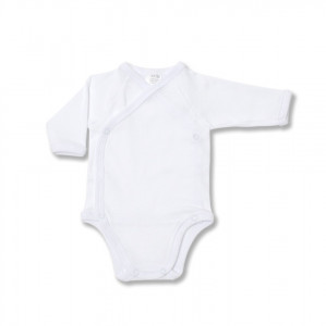 Body bebe alb petrecut,1-12 luni