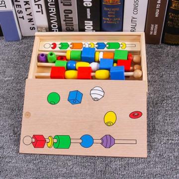 Joc-puzzle figarui din lemn