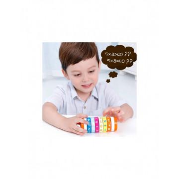 Joc Rubic Cilindru, Calcule Matematice din lemn