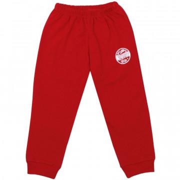 Pantalon subtire de trening pentru copii, rosu