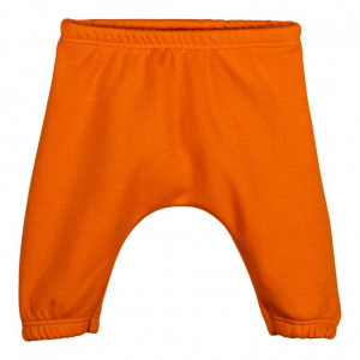 Pantaloni sport bebelusi, matlasati,orange