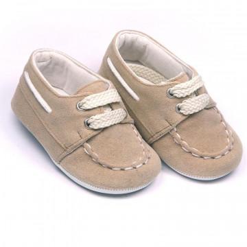 Pantofi eleganti bebelusi, bej