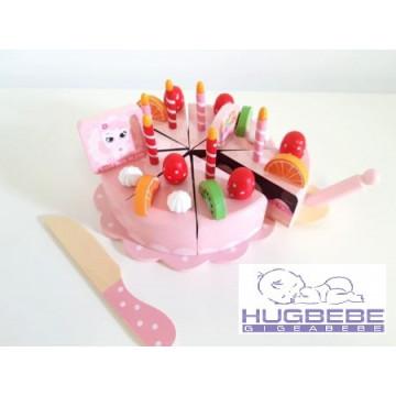 Tort De Jucarie Din Lemn Lucke Cake