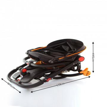 Tricicleta pliabila Cos Tx 019 ,gri