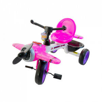 Tricicleta roz Cu Elice, Lumina Si Muzica,