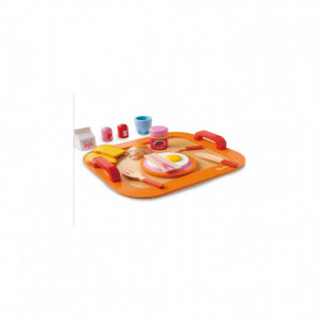 Joc educativ Mic dejun cu ou, din lemn