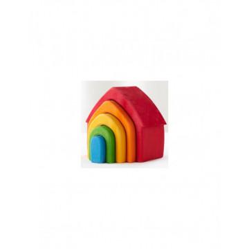 Joc lemn Montessori Curcubeu Rainbow House
