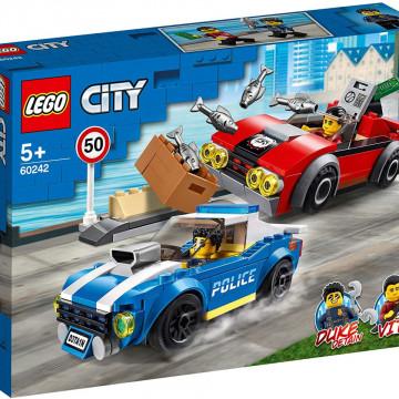LEGO CITY AREST PE AUTOSTRADA AL POLITIEI 60242