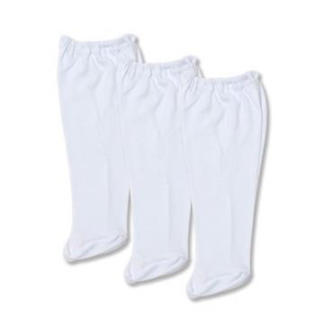 Set 3 pantaloni cu botosel, cu elastic in talie