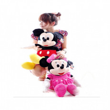 Set Mickey si Minnie Mouse Din Plus 74 Cm