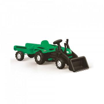 Tractor Excavator Cu Pedale Si Remorca Ranchero 171cm
