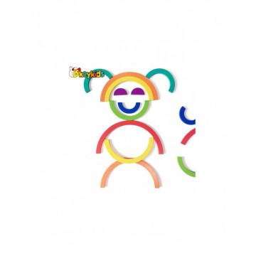 Joc lemn Montessori Curcubeu Double Rainbow