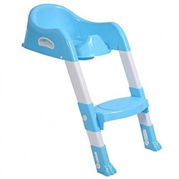 Reductor pentru toaleta cu scara , Nobrand , albastra