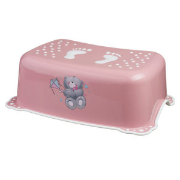 Taburet copii MyKids Bears Pink-White antialunecare