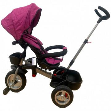 Tricicleta HUG S180 cu scaun reversibil, pozitie de somn, MOV
