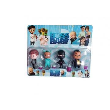 Baby boss,set 4 figurine de plastic.