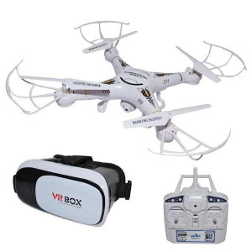 Drona RC cu camera, Wi-Fi si ochelari VR