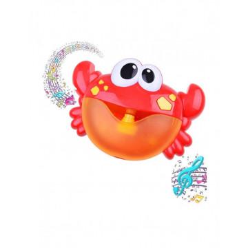 Jucarie muzicala de baie cu baloane de sapun - Crab Bubble