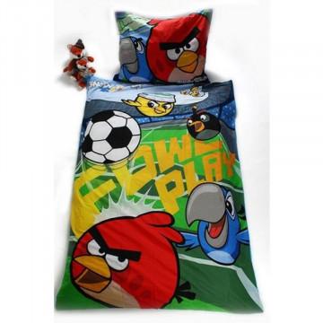 Lenjerie de pat tineret Angry Birds