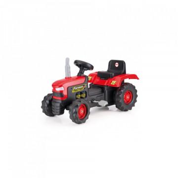 Tractor Cu Pedale, Rosu,
