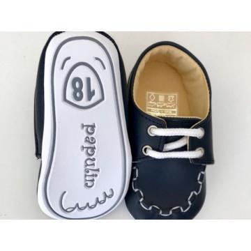Pantofi eleganti bebelusi, bleumarin