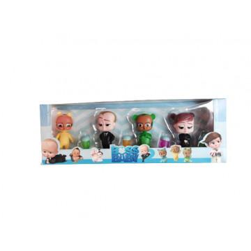 Baby boss,set 4 figurine de plastic