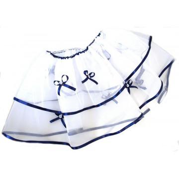 Decor cristelnita, cu elemente bleumarin