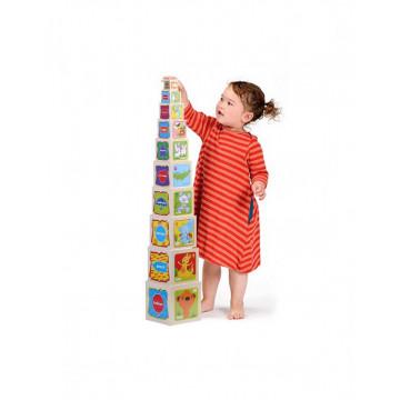 Turnul 10 Educativ Din Lemn