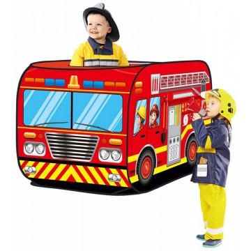 Cort de joaca pentru copii Camionul de Pompieri