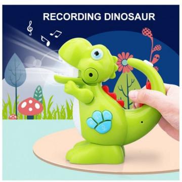 Dinozaur de jucarie interactiv pentru bebe