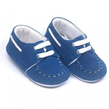 Pantofi eleganti bebelusi , albastri