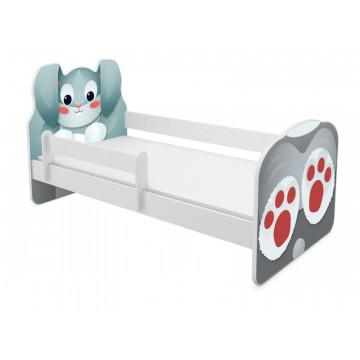 Patut Tineret MyKids Animals Rabbit 140x70