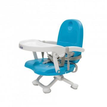Scaun de masa inaltator pentru bebelusi Easy Peasy, Albastru