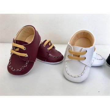 Pantofi eleganti bebelusi, visiniu