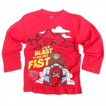 Angry Birds GO! Bluza maneca lunga bumbac,
