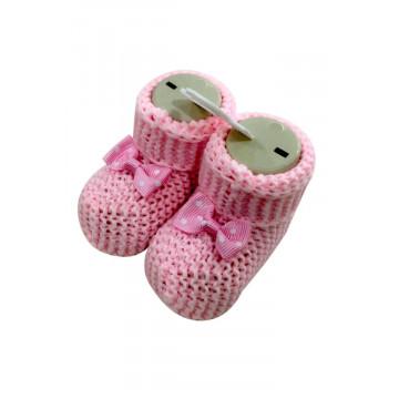 Botosei tricotati bebelusi, diverse culori, 0-4 luni