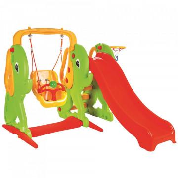 Centru de joaca Pilsan Elephant Slide and Swing Set