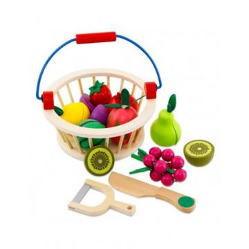 Cosuletul cu fructe de feliat din lemn