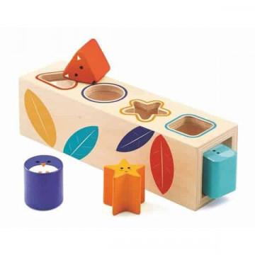 Cutia formelor geometrice sortator copii