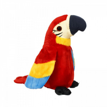 Jucarie de Plus Interactiva Papagal Vorbitor